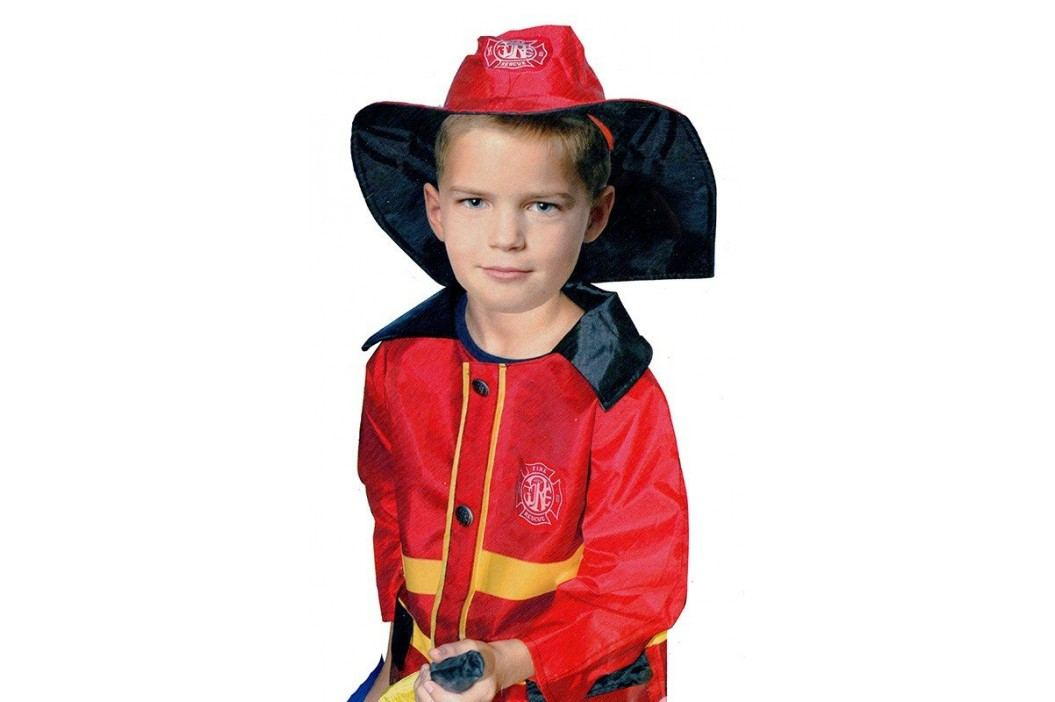 Rappa Karnevalový kostým hasič / požárník (104-122)