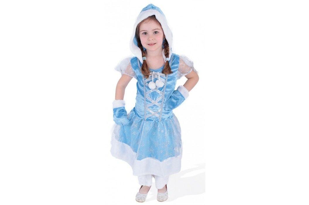 Rappa Karnevalový kostým princezna kožíšková zimní království, vel. S (110-116)