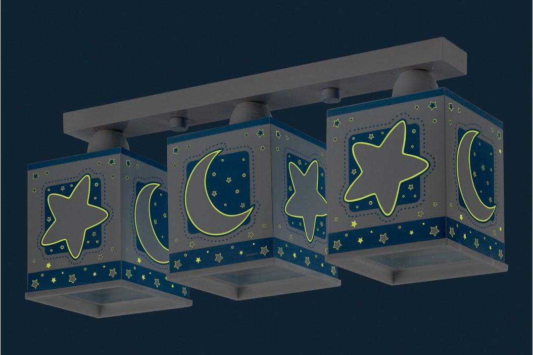 Dalber Dětské stropní svítidlo Moon Blue
