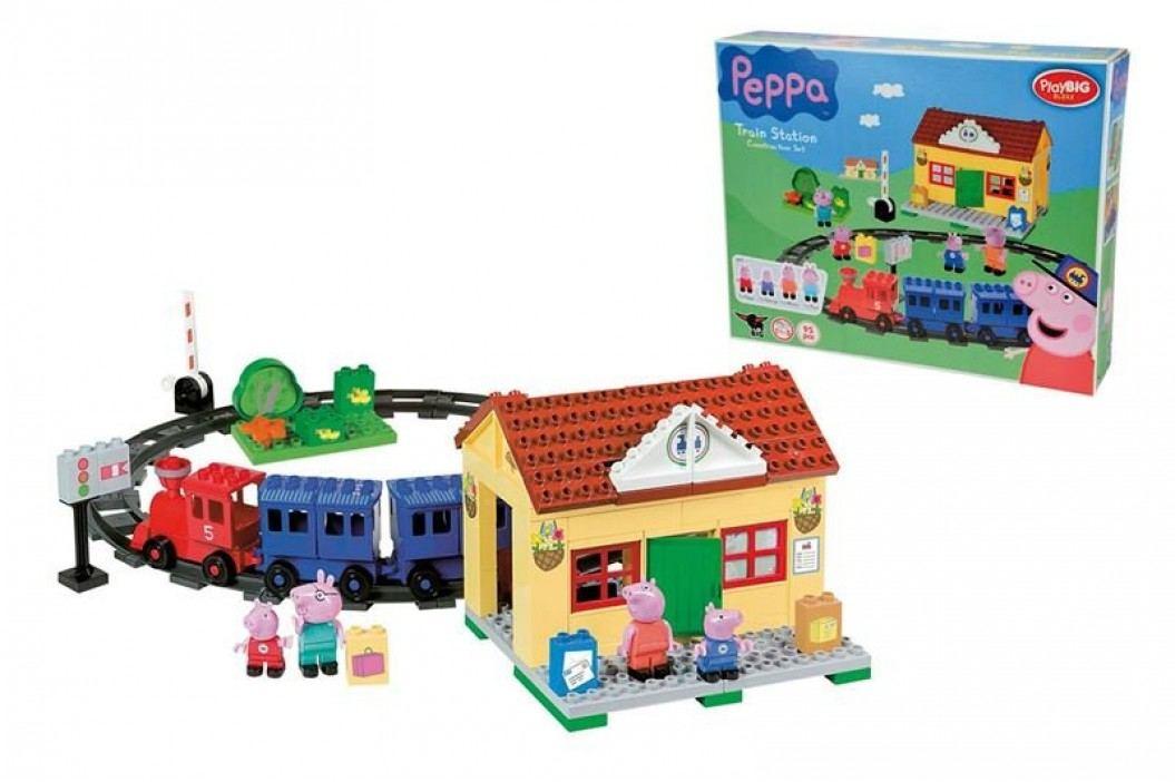 BIG PlayBig BLOXX Peppa Pig Vláčkodráha