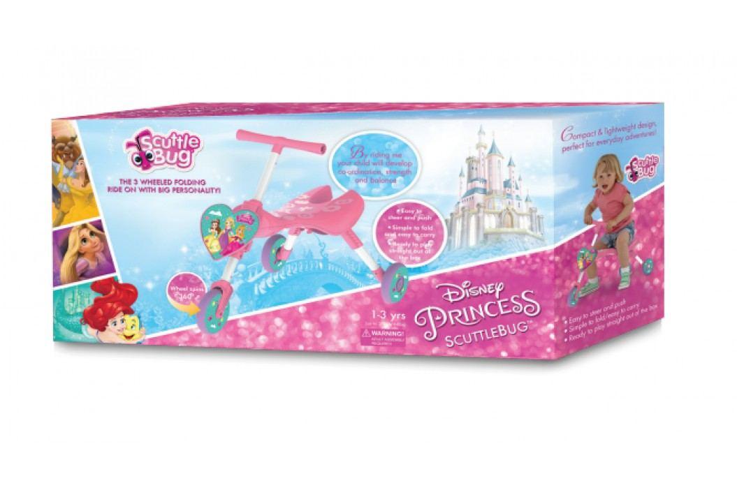 Mookie Scuttlebug odrážedlo tříkolka - Disney princezny