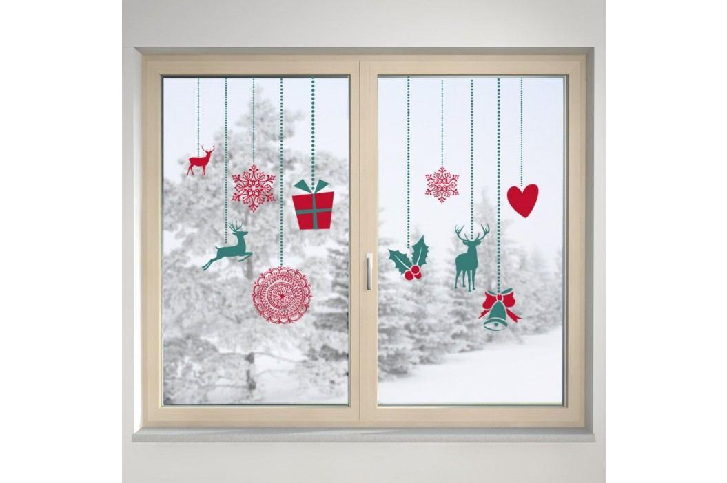 Housedecor Samolepka na sklo Ozdoby na okno