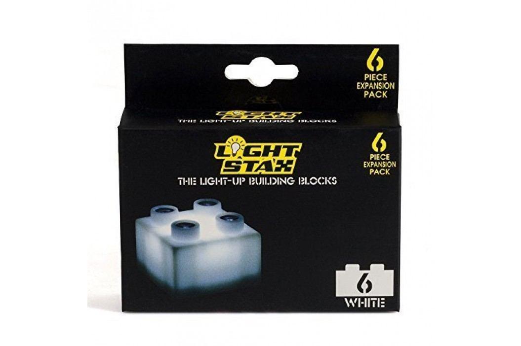 Light Stax Rozšiřující set – 6 kostek bílých
