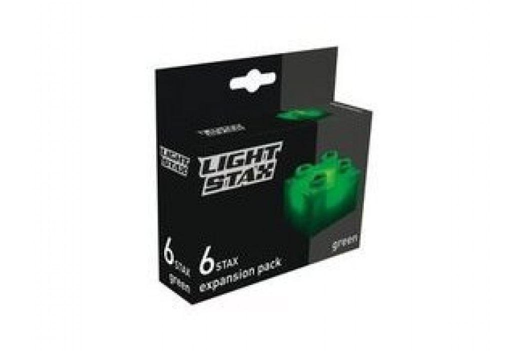 Light Stax Rozšiřující set – 6 kostek zelených