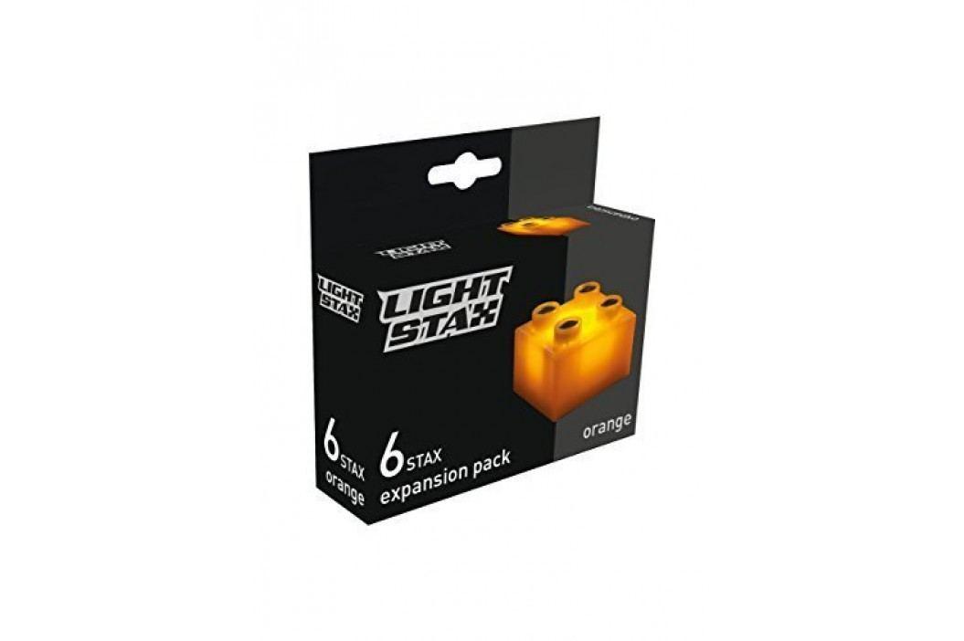 Light Stax Rozšiřující set – 6 kostek oranžových