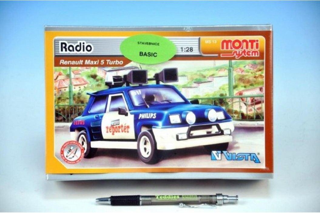 Vista Stavebnice Monti 13 Radio Renault 1:28