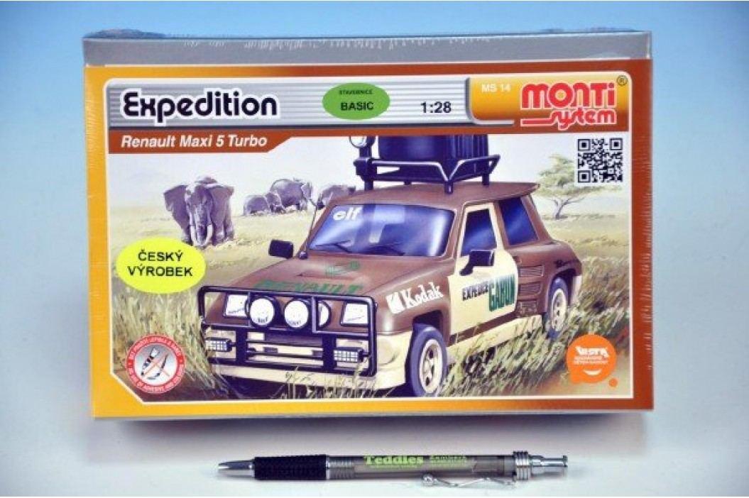 Vista Stavebnice Monti 14 Expedice-Renault M.5 T. 1:28