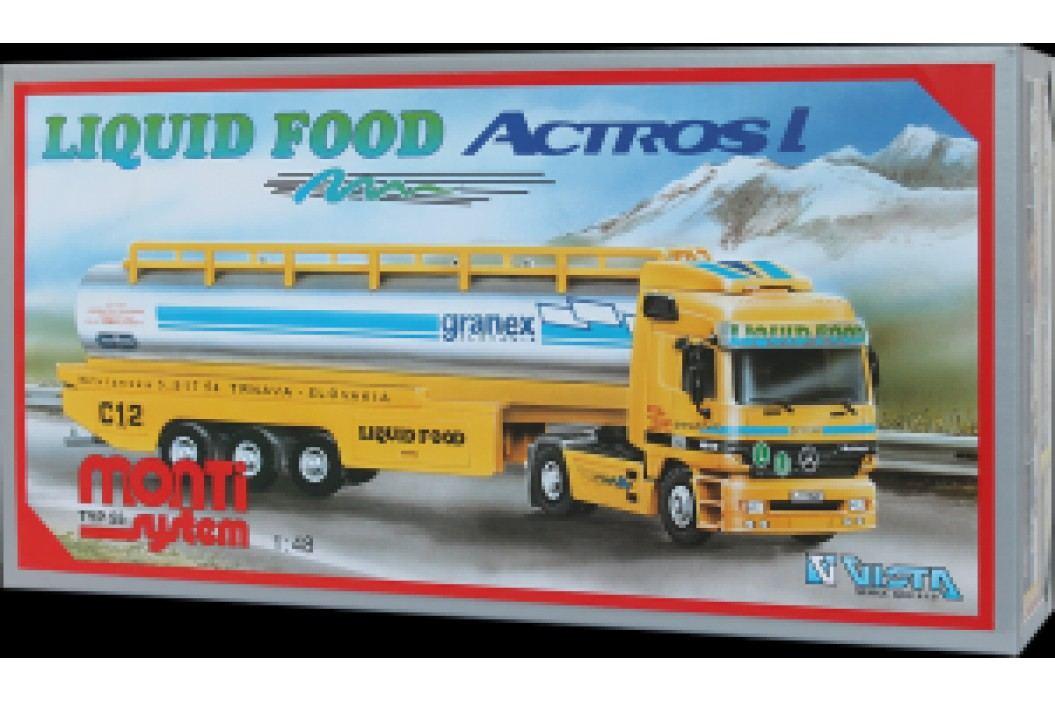 Vista Stavebnice Monti 55 Liguid Food Actros L-MB 1:48