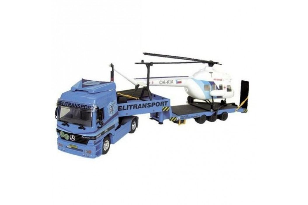 Vista Stavebnice Monti 58 Actros L-MB Helitransport 1:48