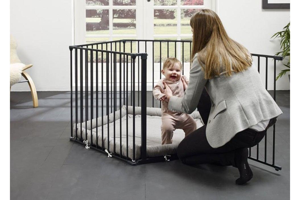 Baby Dan Ohrádka Park a Kid s matrací - černá