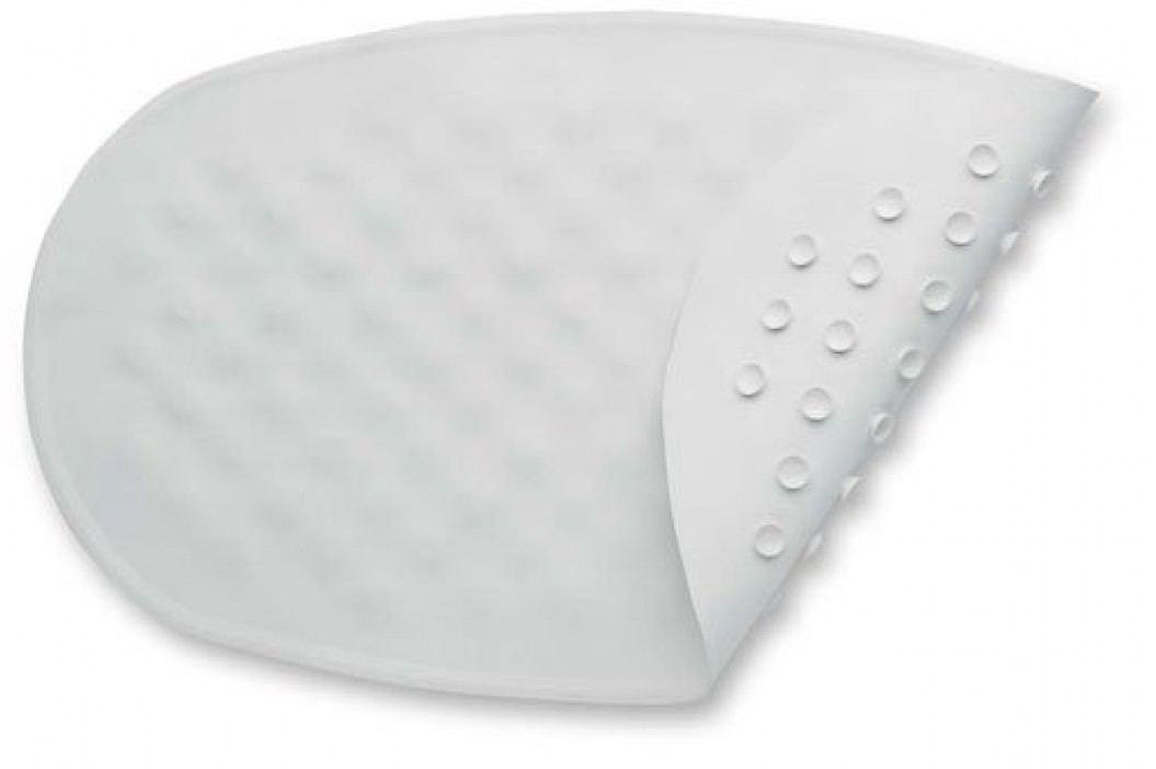 Baby Dan Protiskluzová oválná podložka do vany, 35x55 cm - bílá