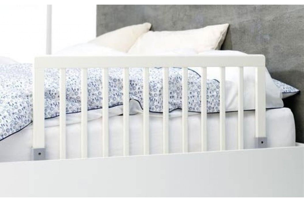 Baby Dan Zábrana k posteli dřevěná, 43x90 cm - bílá