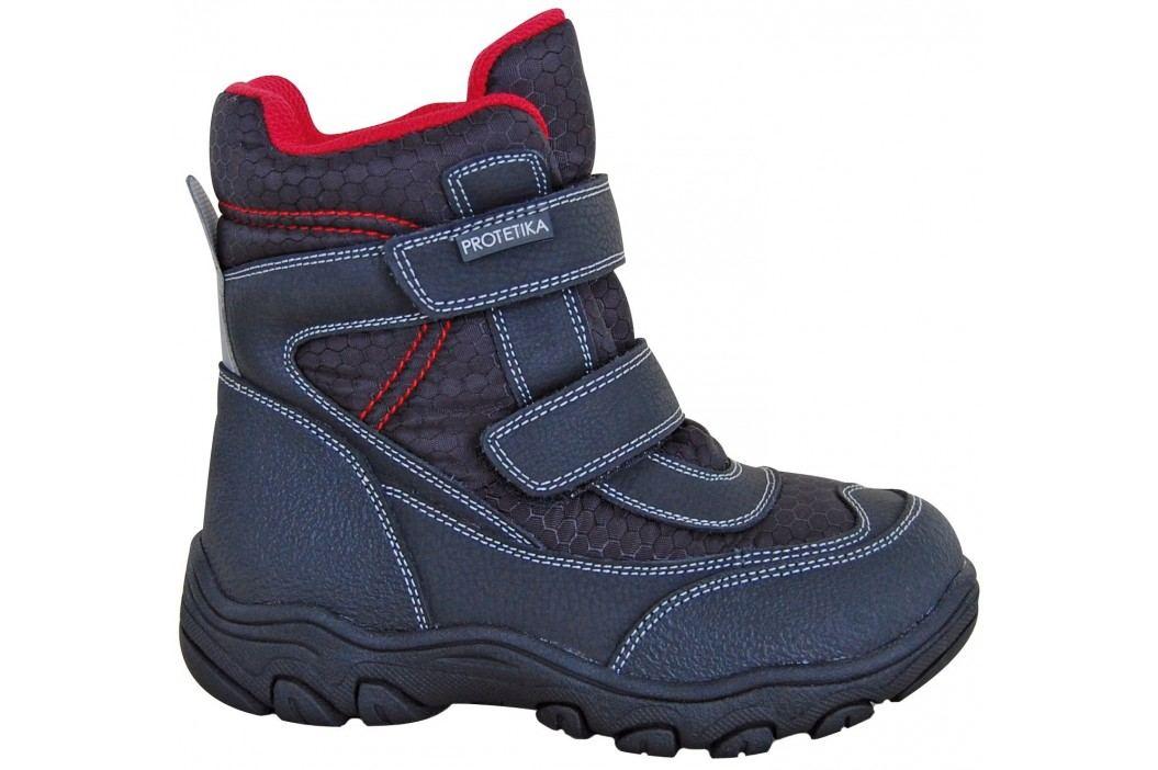 Protetika Chlapecké kotníkové zateplené boty Stadler - černé ... 728eb8f9fc