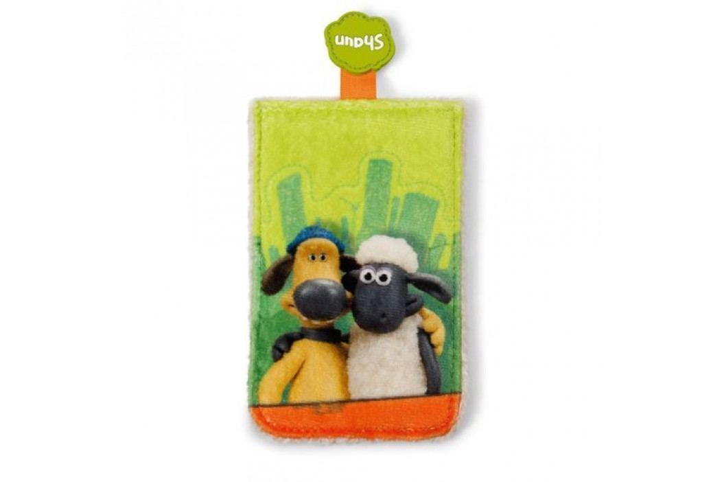 Shaun the Sheep Ovečka Shaun - Obal na chytrý telefon Shaun a Bitzer