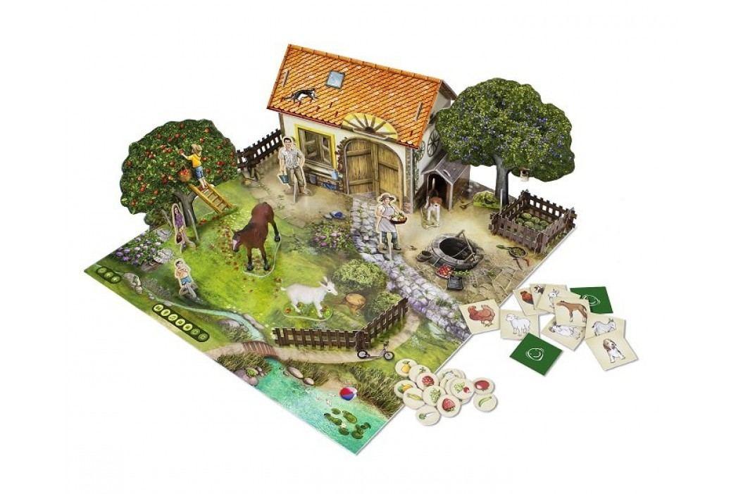 Albi Kouzelné čtení Hra Farma 3D - Na farmě