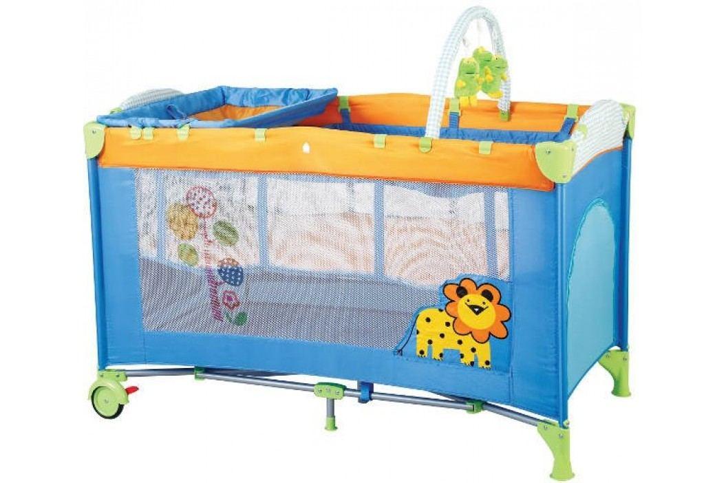 BabyGO Cestovní postýlka SleepWell Zoo