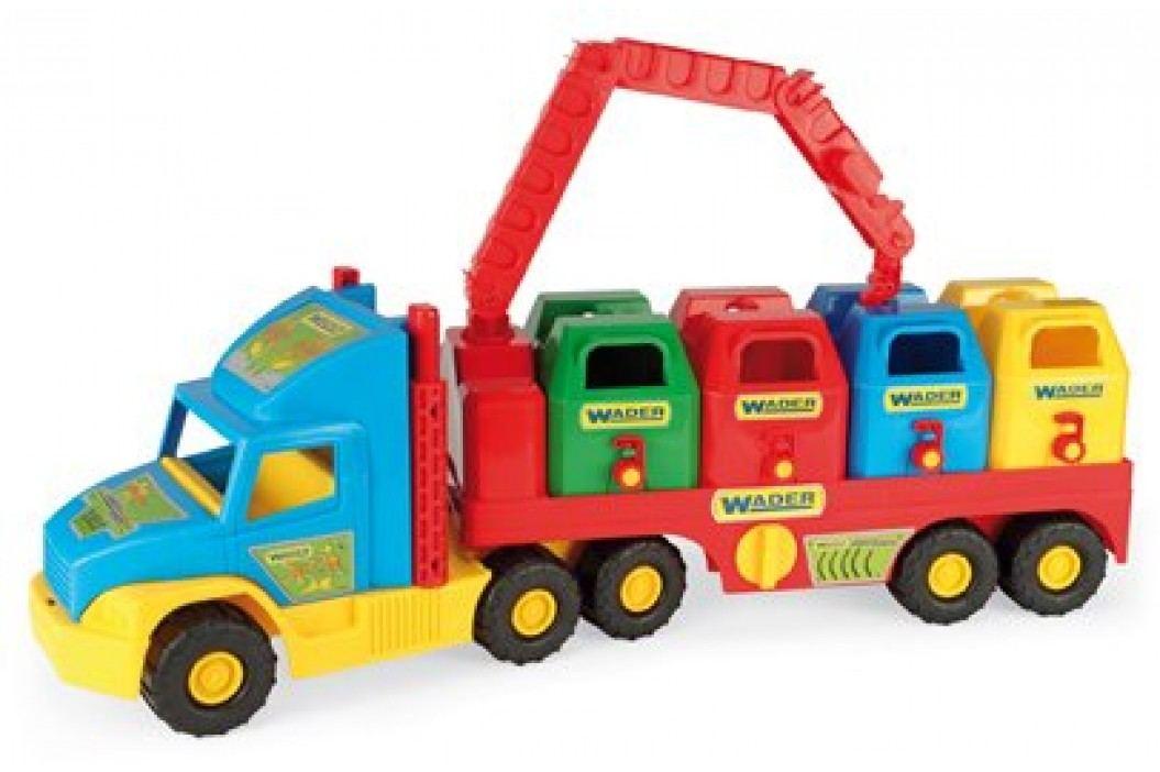 WADER Auto Super Truck popeláři plast 75 cm