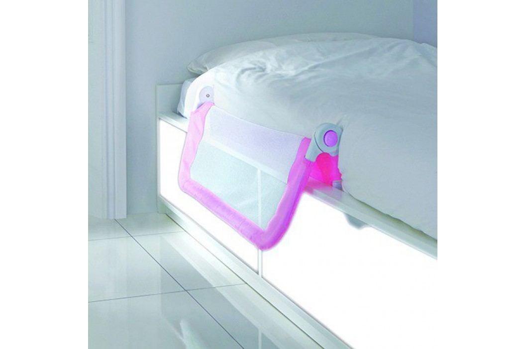 Lindam Dětská zábrana k posteli - růžová