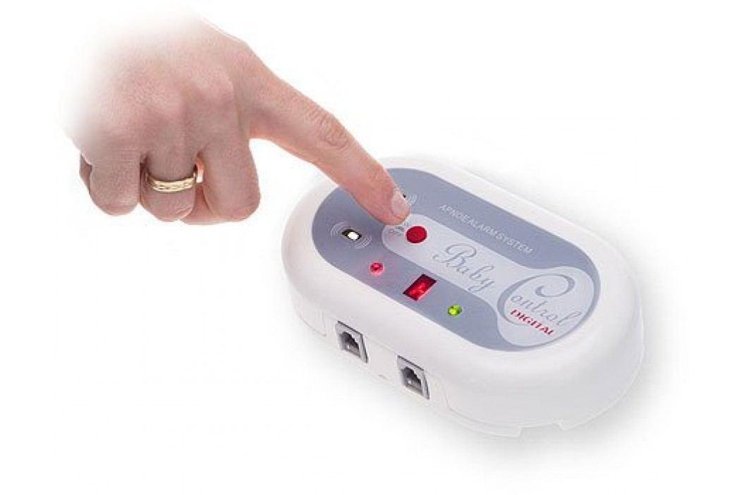 Baby Control Digital monitor dechu BC-200 - s jednou senzorovou podložkou