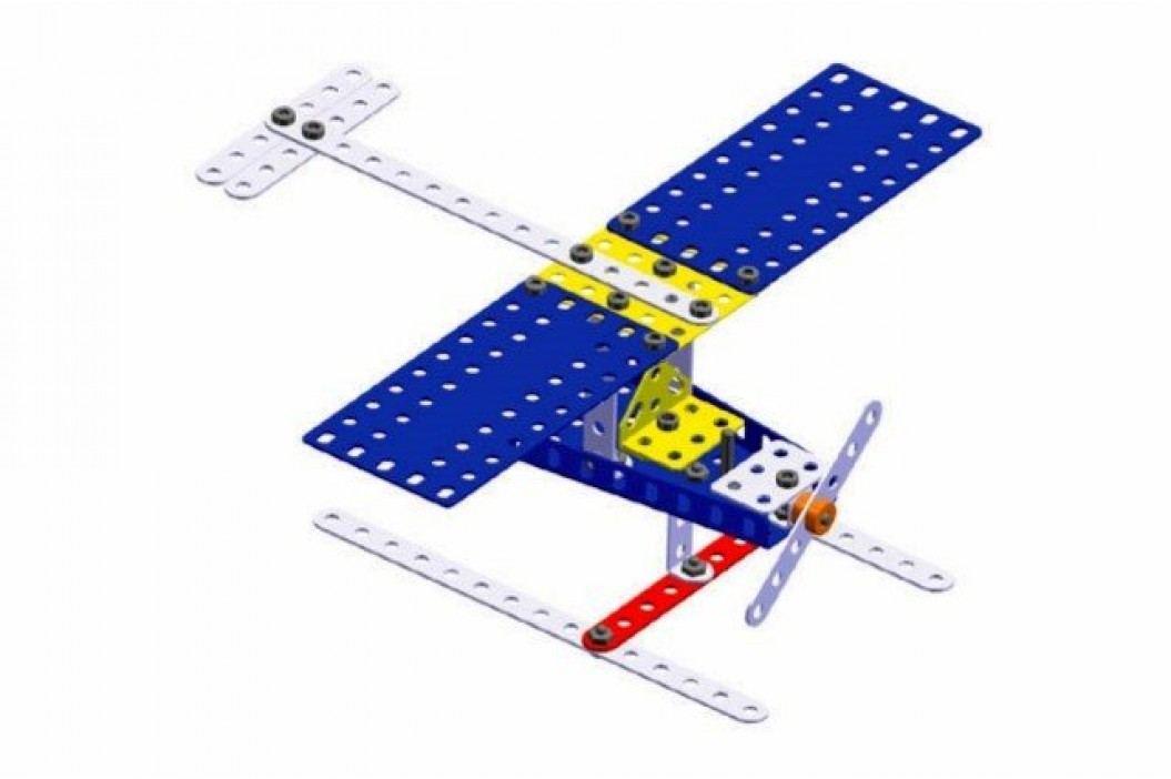 Merkur Stavebnice 014 Letadlo 10 modelů - 141 ks