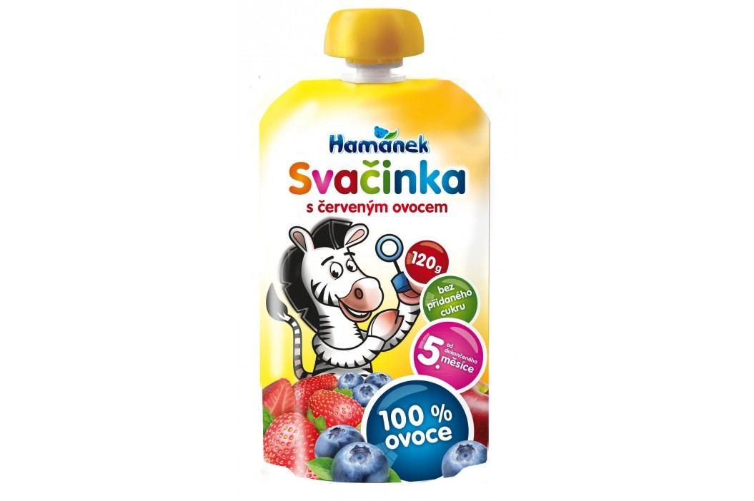 Hamánek NE SVAČINKA 100% ovoce s červeným ovocem 2x120g