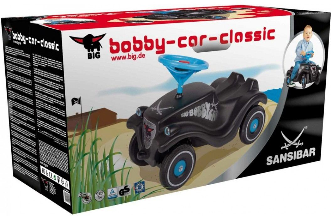 BIG Odrážedlo Bobby Car Classic Sansibar