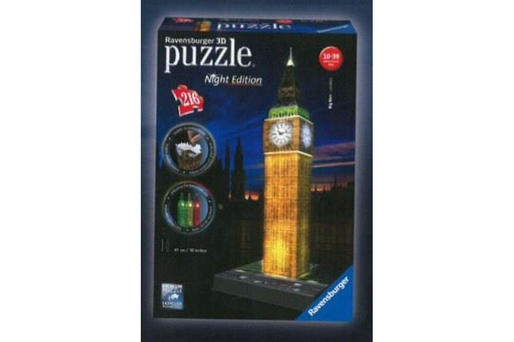 Ravensburger Puzzle Big Ben Noční Edice 3D 216 dílků