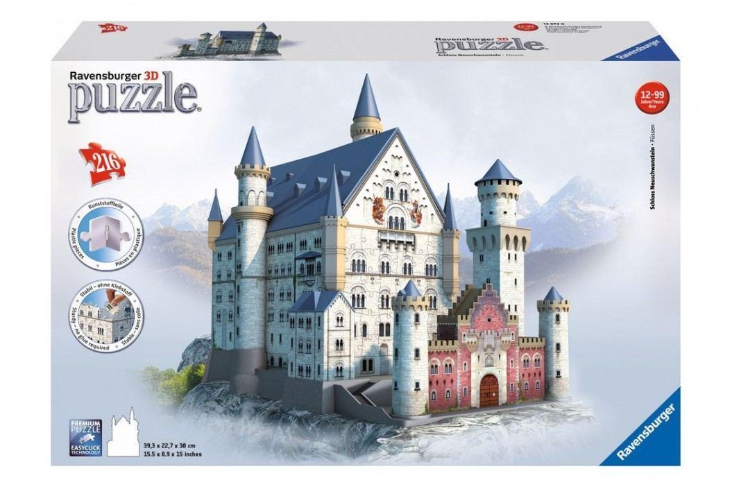Ravensburger Zámek Neuschwanstein  216 dílků
