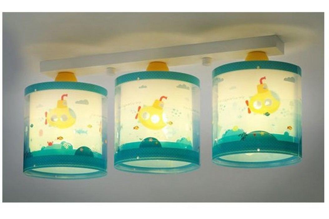 Dalber Dětské stropní svítídlo trojité, ponorka