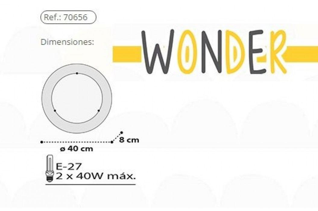 Dalber Dětské stropní/nástěnné svítidlo, Wonder