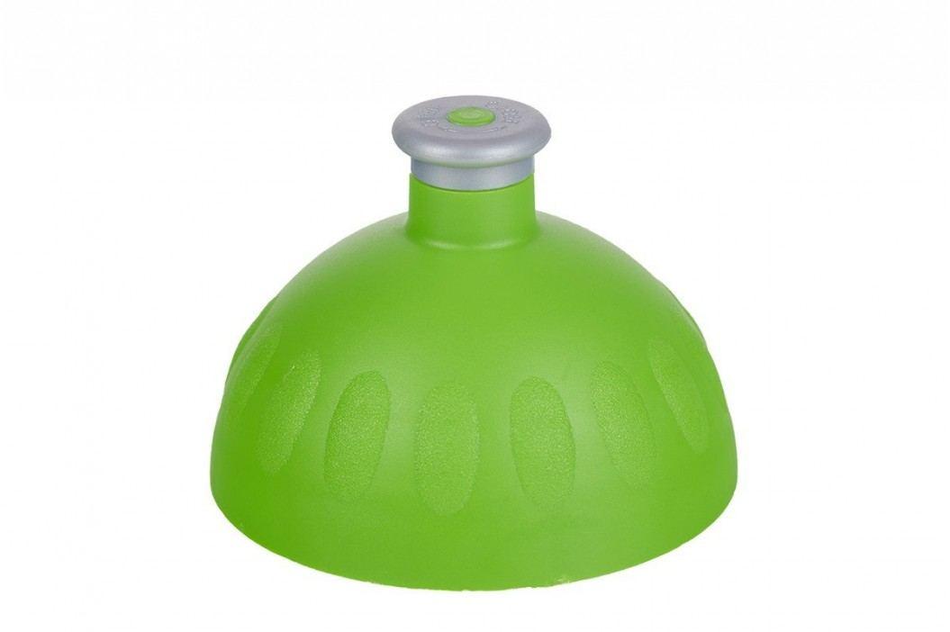 Zdravá lahev Náhradní kompletní víčko zelené/zátka stříbrná