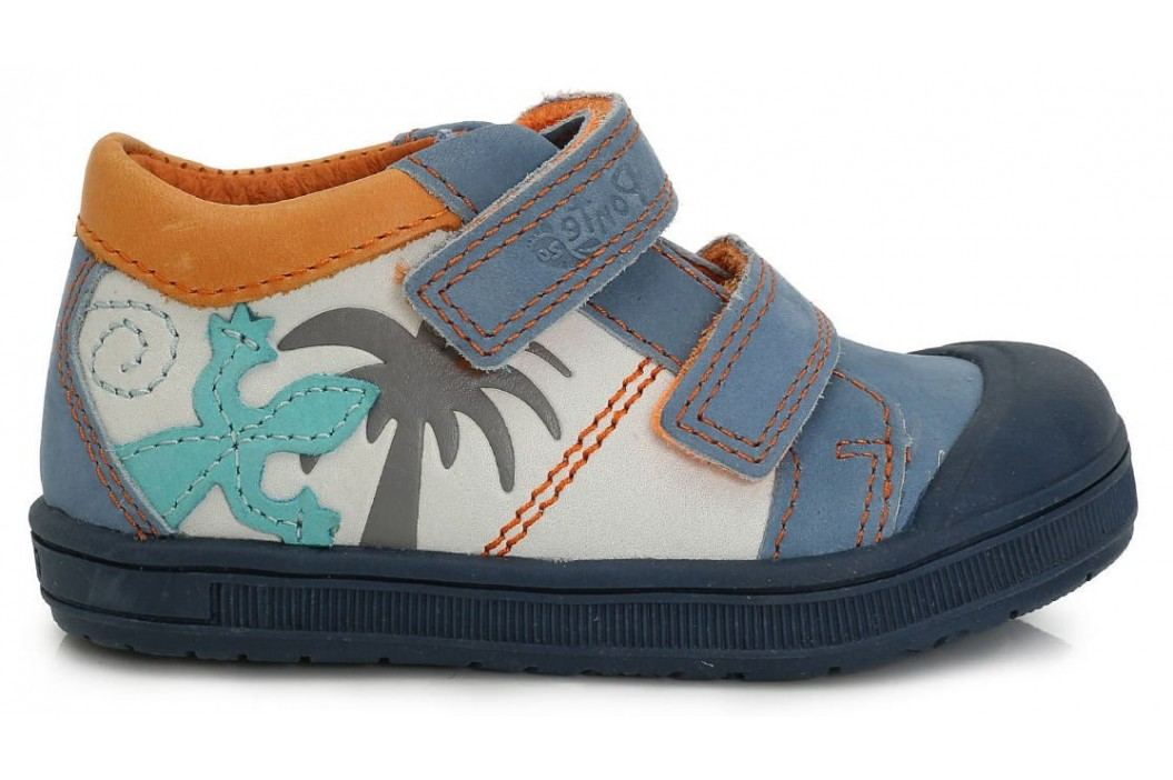 Ponte 20 Chlapecké kožené boty s ještěrkou - barevné - Prďolin.cz 87914a7816