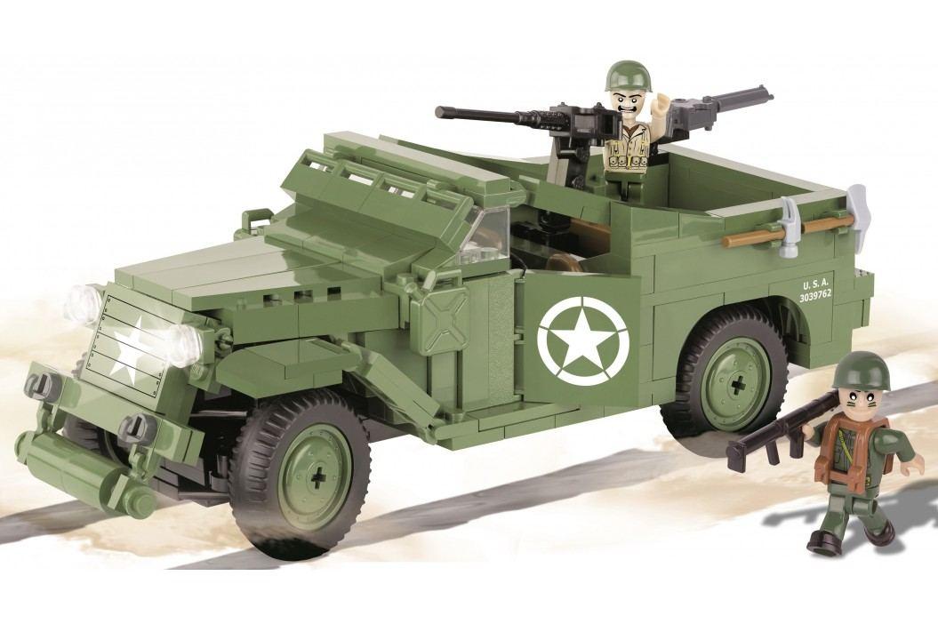 Cobi SMALL ARMY II WW M3 Scout Car
