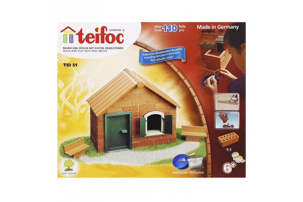 Teifoc Stavebnice Teifoc Domek Daniel 110 ks