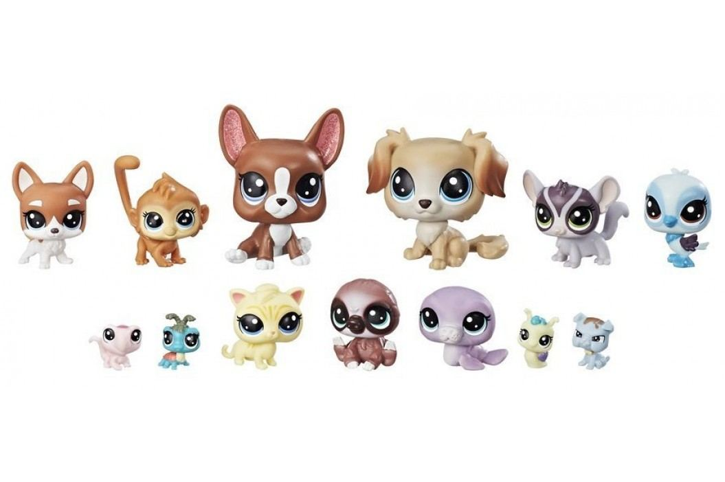 Littlest Pet Shop Velké balení zvířátek – Mischief Pals