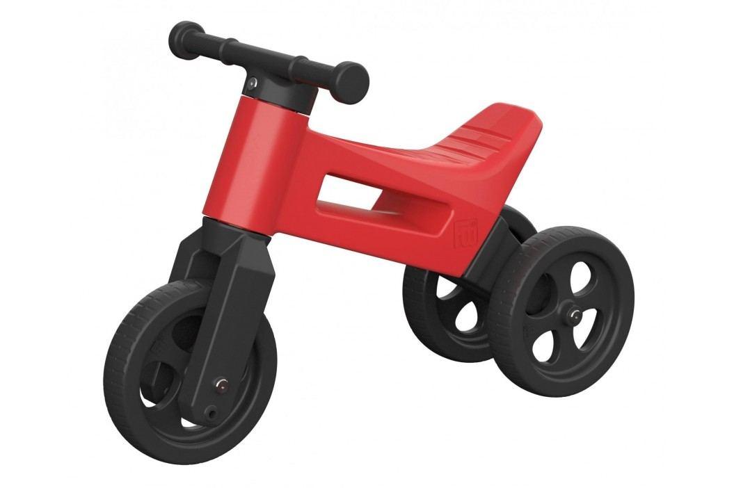 Teddies Odrážedlo Funny Wheels 2v1 - červené