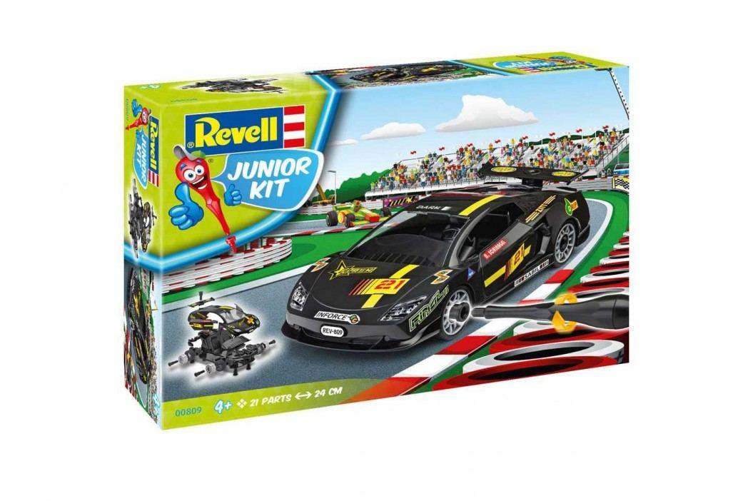 Revell Junior Kit auto 00809 - Racing Car, black (1:20)