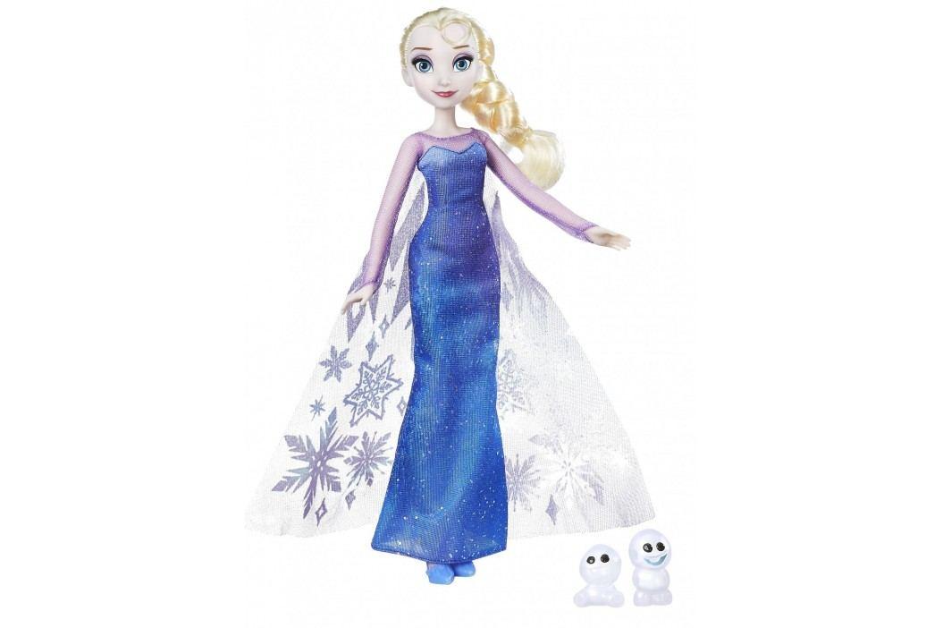 Hasbro Princezna Elsa s třpytivými šaty a kamarádem