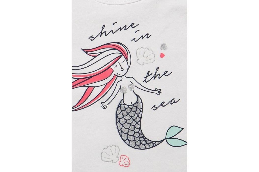 Dirkje Dívčí trojkomplet mořská panna - oranžovo-růžovo-bílý