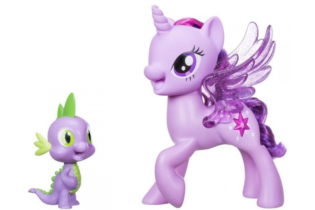 My Little Pony Set se zpívající Twilight Sparkle a Spikem