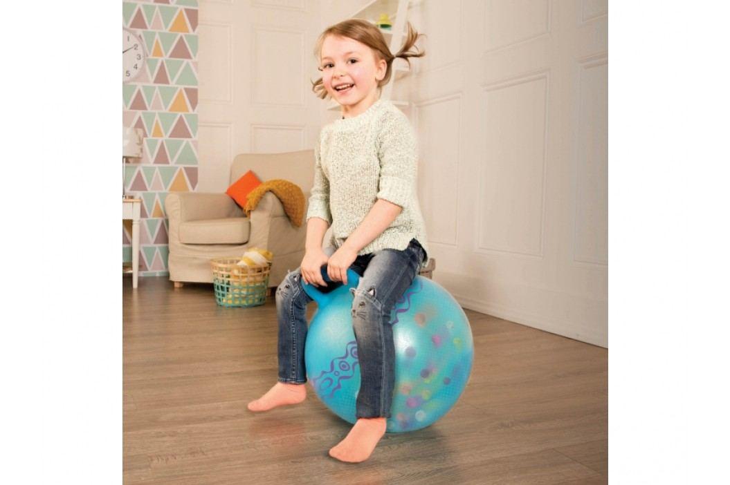 B-Toys Skákací míč Hop n' Glow modrý
