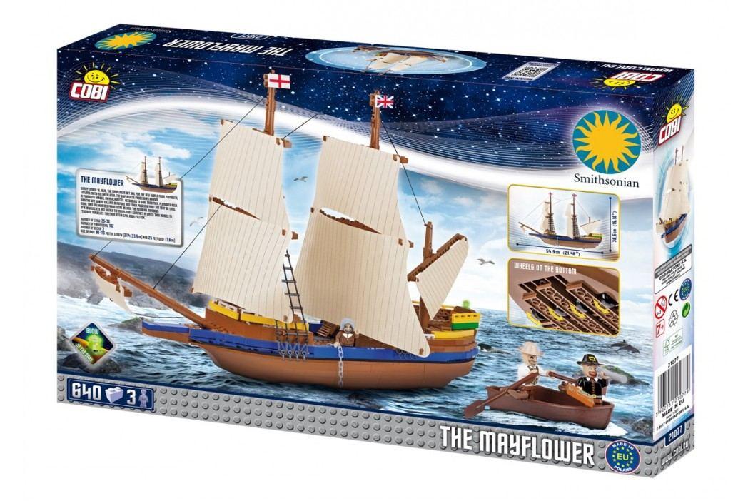 Cobi SMITHSONIAN Loď Mayflower