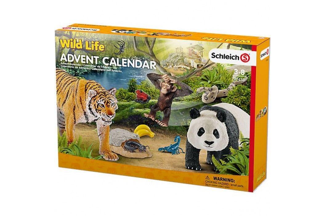 Schleich Adventní kalendář Schleich 2017 - Africká zvířata 97433