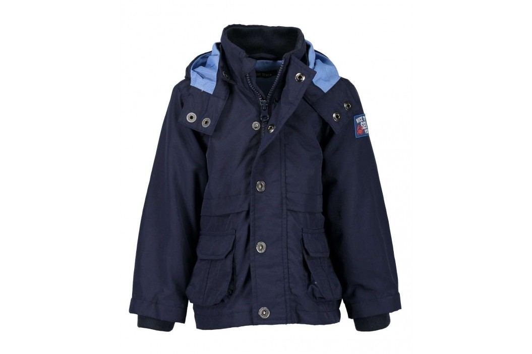 Blue Seven Chlapecká bunda s kotvou - modrá