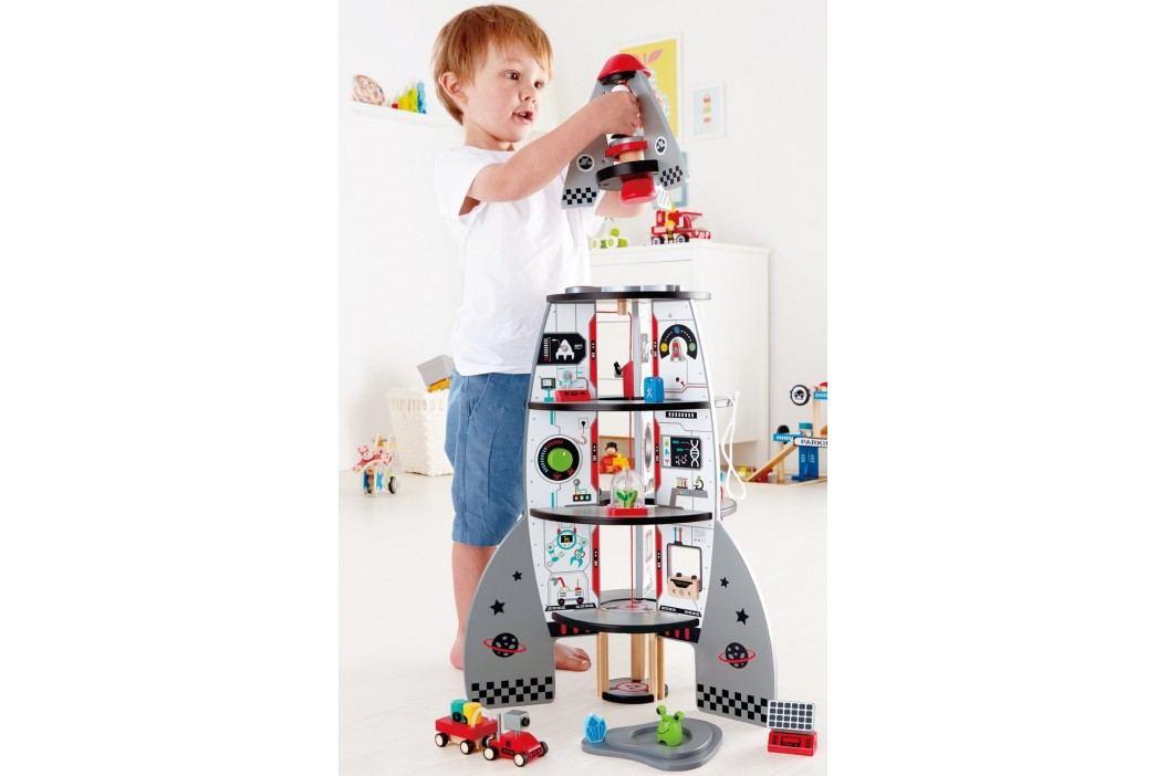 Hape Toys Čtyřpatrová vesmírná raketa