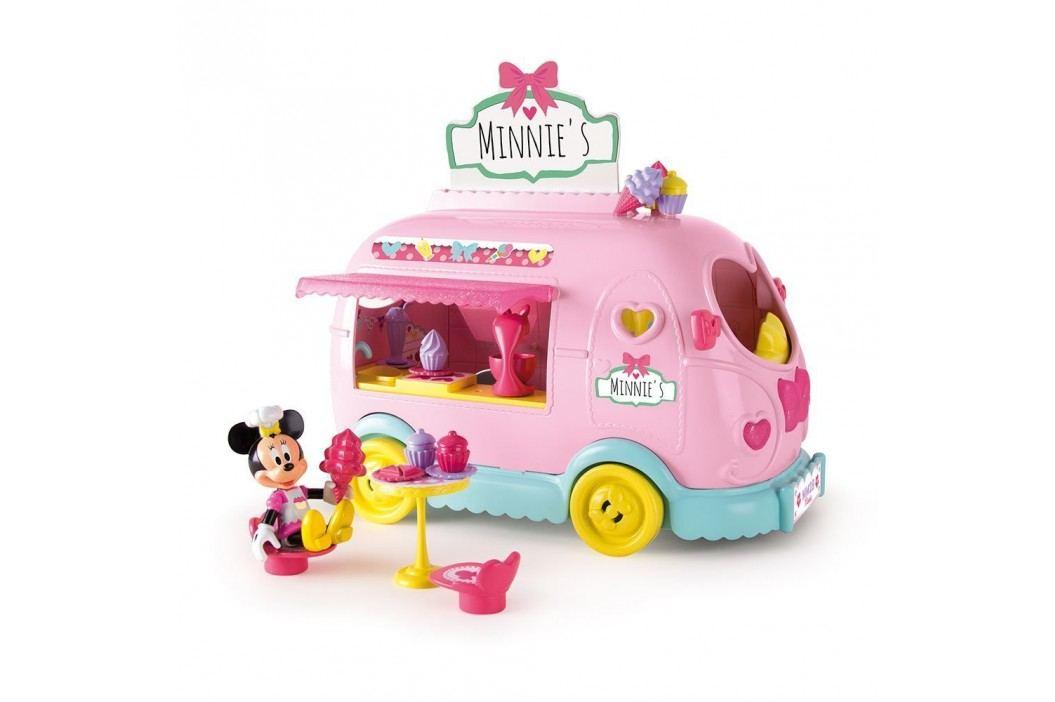 Mikro hračky Minnie auto cukrárna 25 cm na baterie
