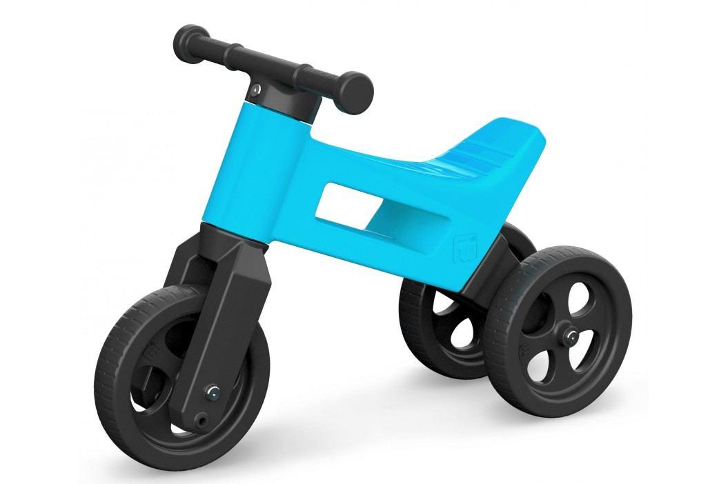 Teddies Odrážedlo Funny Wheels 2v1 modré