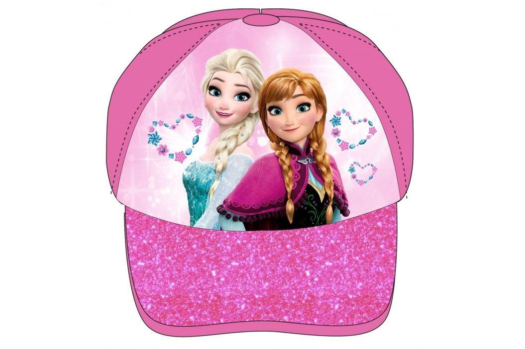 E plus M Dívčí kšiltovka Frozen - růžová