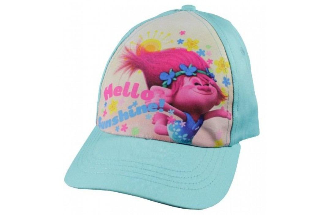 E plus M Dívčí kšiltovka Trollové - modrá