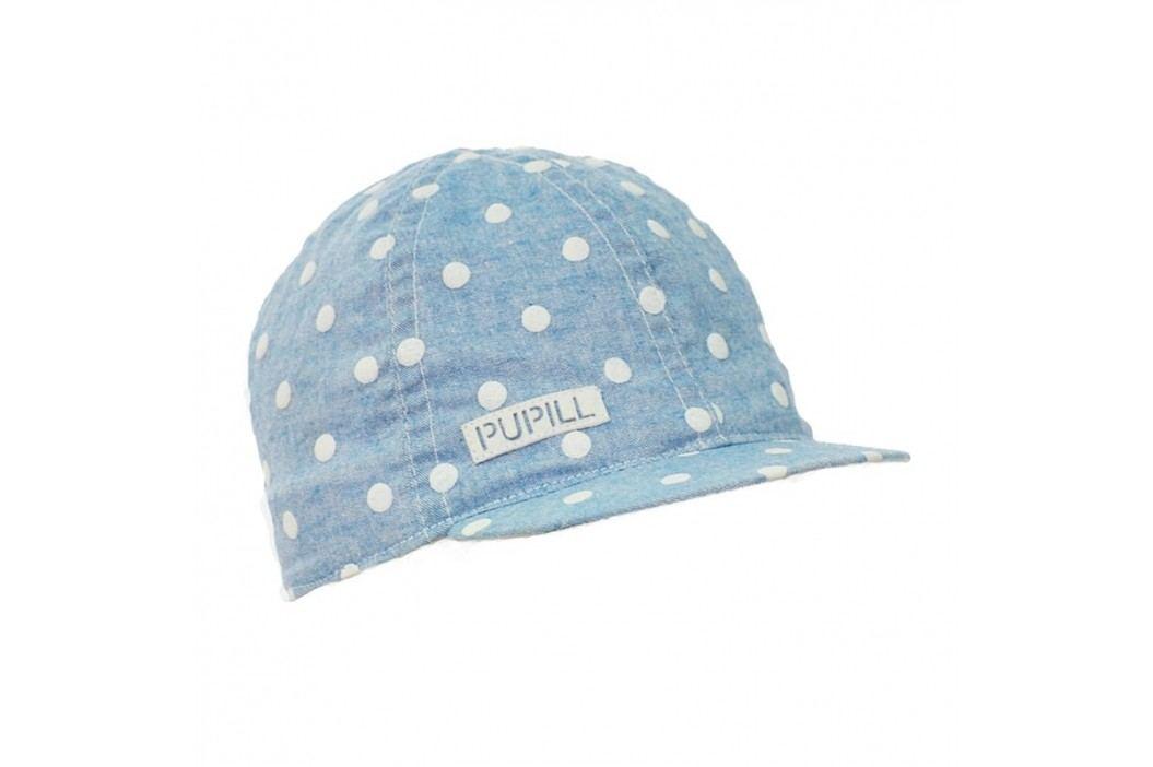 Pupill Dívčí čepice Daisy s kšiltem - modrá